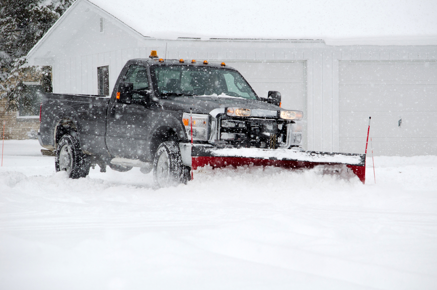 Sperry Ventures Plow Truck Snow Removal in Vail